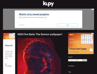 kupywrestlingwallpapers.info screenshot
