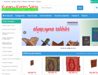 kuranikerimsatisi.com screenshot