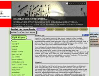 kurantefsiririsaleinur.com screenshot