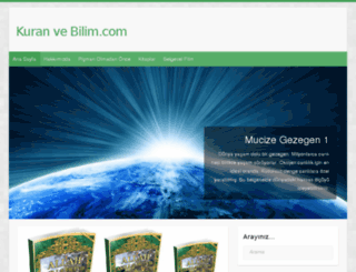 kuranvebilim.com screenshot