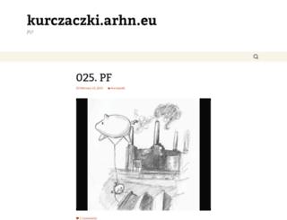 kurczaczki.arhn.eu screenshot
