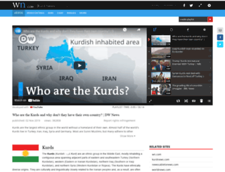kurdnews.com screenshot