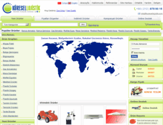 kuresellojistik.com screenshot