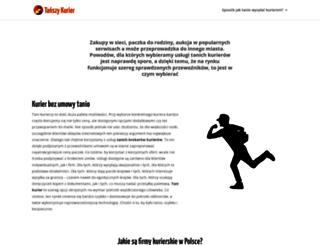 kuriermix.pl screenshot