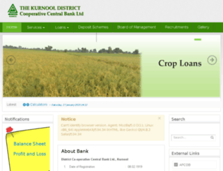 kurnooldccb.org screenshot