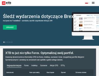 kurs.xtb.pl screenshot