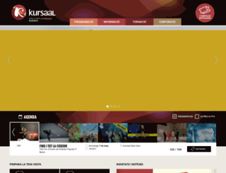kursaal.cat screenshot