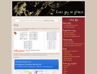 kursgrynagitarze.pl screenshot