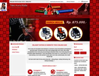 kursi-roda.net screenshot