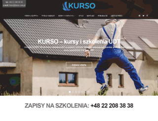 kurso.com.pl screenshot