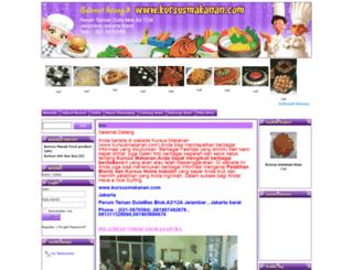kursusmakanan.com screenshot