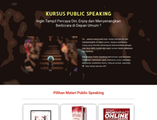 kursuspublicspeaking.com screenshot