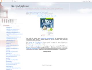 kursy-jezykowe-audio.blogspot.com screenshot