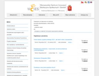 kursy.wcies.edu.pl screenshot