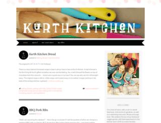 kurthkitchen.wordpress.com screenshot
