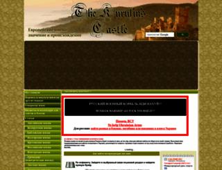 kurufin.ru screenshot