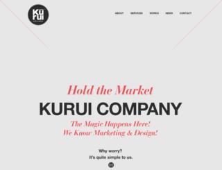 kurui.co.kr screenshot