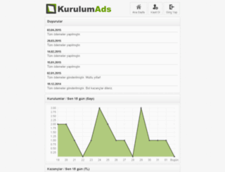 kurulumads.com screenshot