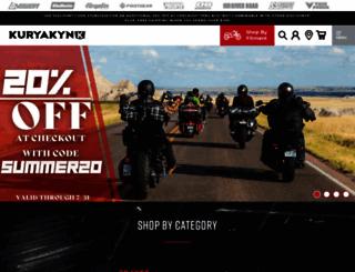 kuryakyn.com screenshot