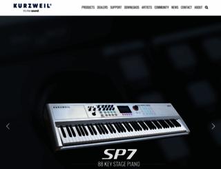 kurzweil.com screenshot