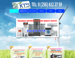 kusadasiaristonservisi.com screenshot
