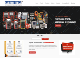 kusamelectrical.com screenshot