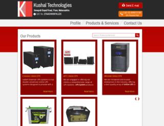 kushaltech.com screenshot