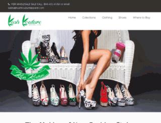 kushkoutureapparel.com screenshot