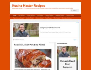 kusinamasterrecipes.com screenshot