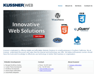 kussner.com screenshot
