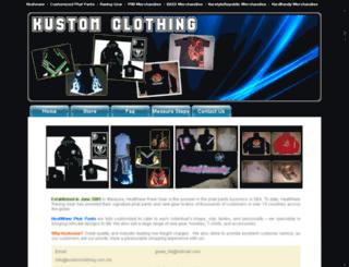 kustomclothing.com.my screenshot