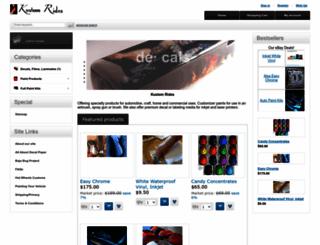 kustomrides.com screenshot