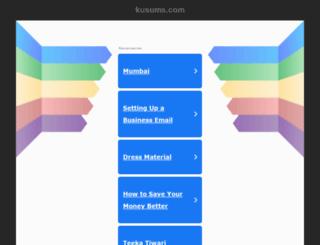 kusums.com screenshot
