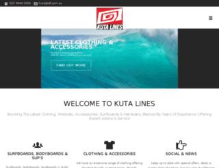 kutalines.com.au screenshot