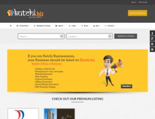 kutchi.biz screenshot