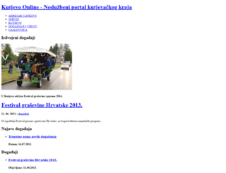 kutjevo-online.com screenshot