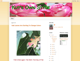 kutsownstyle.blogspot.com screenshot