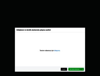kutuphane.karatekin.edu.tr screenshot