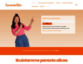 kuvaverkko.fi screenshot