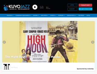 kuvo.org screenshot