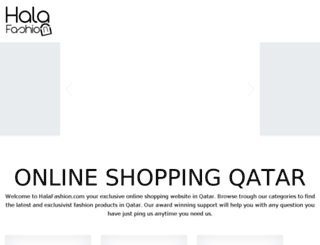 kuwait.halafashion.com screenshot
