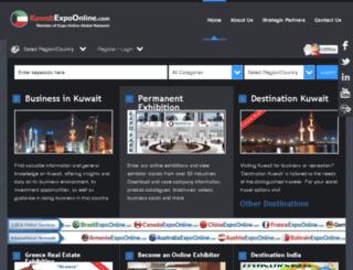 kuwaitexpoonline.com screenshot
