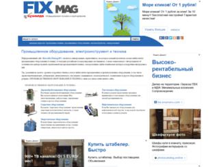 kuwalda.fixmag.ru screenshot