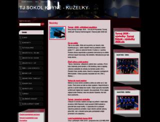 kuzelkykdyne.webnode.cz screenshot