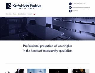 kuznicki-pasieka.com.pl screenshot
