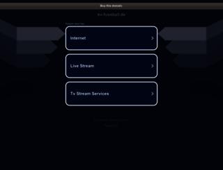 kv-fussball.de screenshot