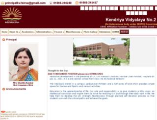kv2sirsa.org screenshot