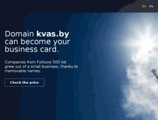 kvas.by screenshot