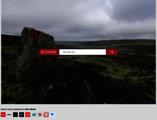 kvasir.no screenshot