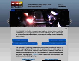 kvastainless.com screenshot